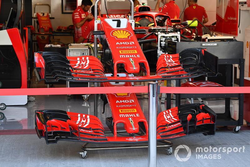 Ferrari SF71H voorvleugels