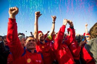 Mahindra Racing celebra la victoria
