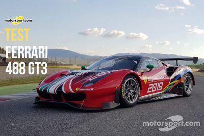 Test Ferrari 488 GT3