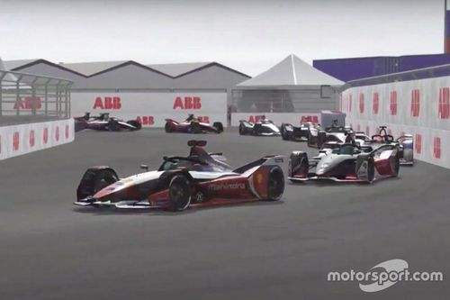 Formule E: Race at Home Challenge - Ronde 7