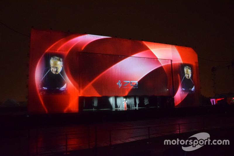 Серджіо Маркіонне  на Шоу 70-річчя Ferrari