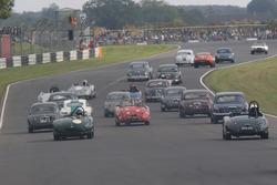 Vintage race action