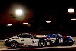 #5 Graff Racing Ligier JS P3: James Winslow, Gregory Taylor, Neale Muston and #40 Brookspeed Porsche Cayman GT4: Graeme Mundy, Aaron Mason, Colin Paton