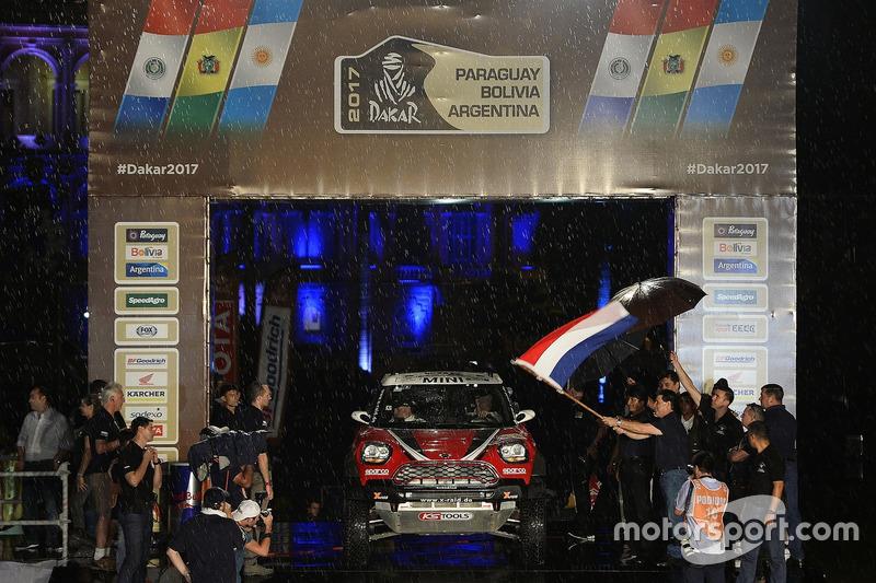 #303 X-Raid Team Mini: Mikko Hirvonen, Michel Périn