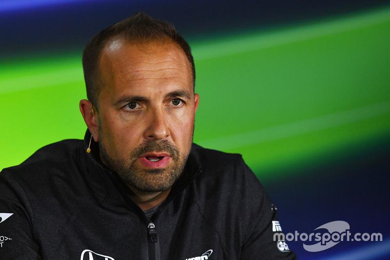 Matt Morris, McLaren in the Press Conference