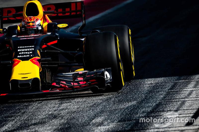 Viernes:  Max Verstappen, Red Bull Racing RB13