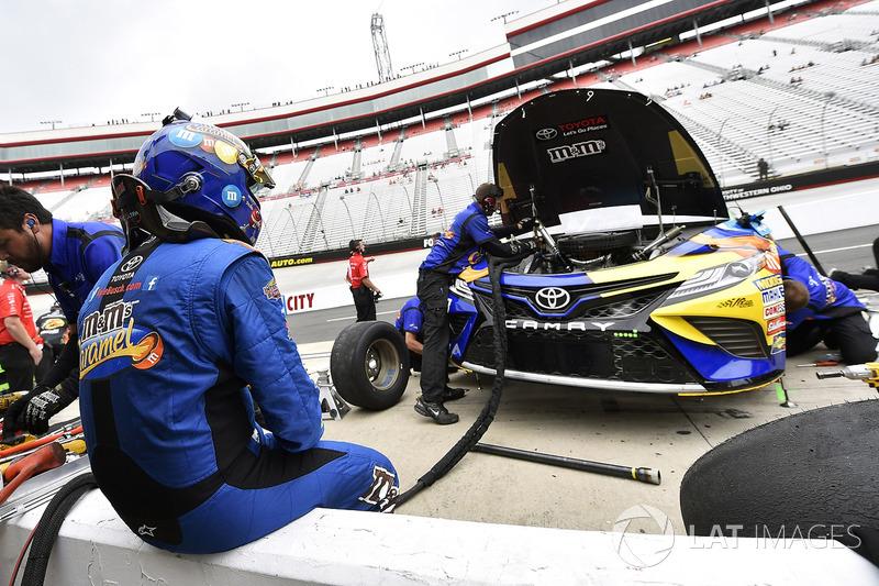 Kyle Busch Joe Gibbs Racing Toyota At Bristol Ii