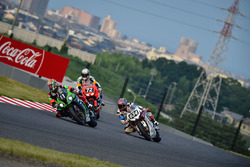 #11 Kawasaki Team Green: Kazuma Watanabe, Leon Haslam, Azlan Shah Bin Kamaruzaman