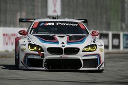 #25 BMW Team RLL BMW M6 GTLM: Bill Auberlen, Alexander Sims
