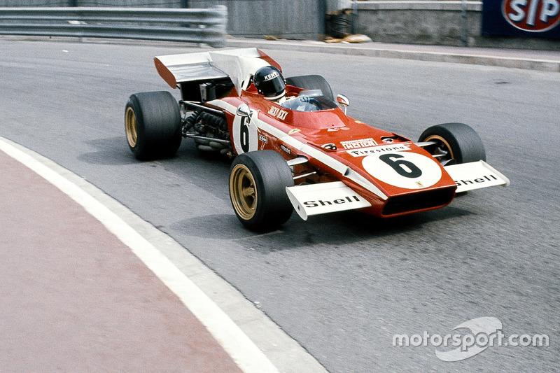 Жакі Ікс, Ferrari 312B2