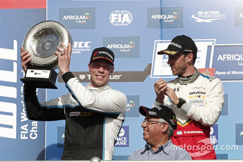 1. Esteban Guerrieri, Campos Racing, Chevrolet RML Cruze TC1; 2. Thed Björk, Polestar Cyan Racing, Volvo S60 Polestar TC1