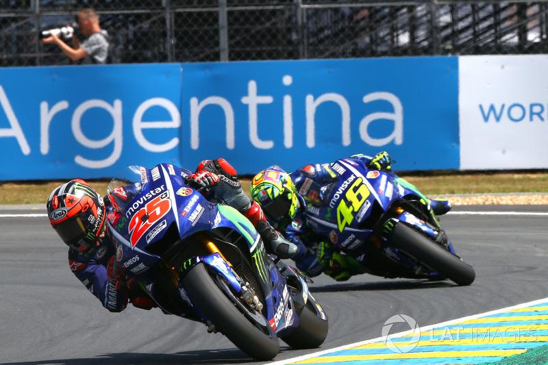Duo Yamaha kencang di Le Mans