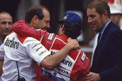 Победитель Айртон Сенна, McLaren, Рон Деннис, Mclaren