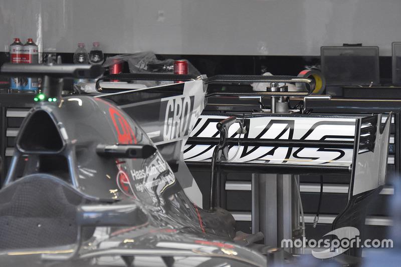 Le T-Wing de la Haas F1 Team VF-17