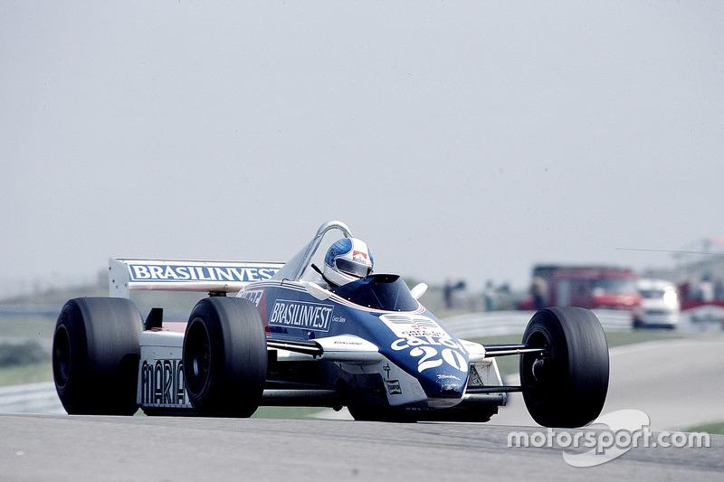1982: Chico Serra, Fittipaldi F8D Ford
