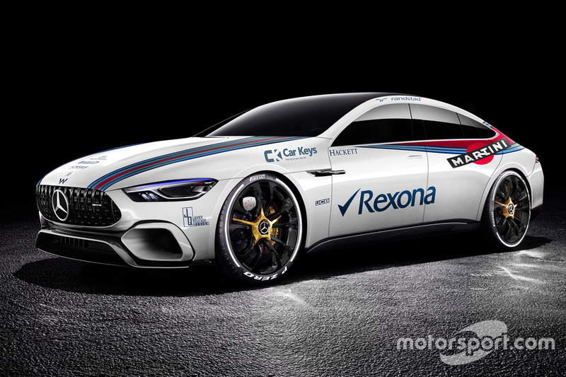 Mercedes Benz AMG GT Concept in Williams livery