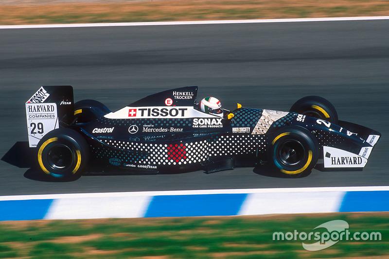 1994: Andrea de Cesaris, Sauber C13 Mercedes
