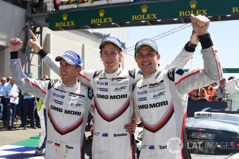 Em 2017, Brendon Hartley venceu as 24 Horas de Le Mans e foi campeão do WEC.