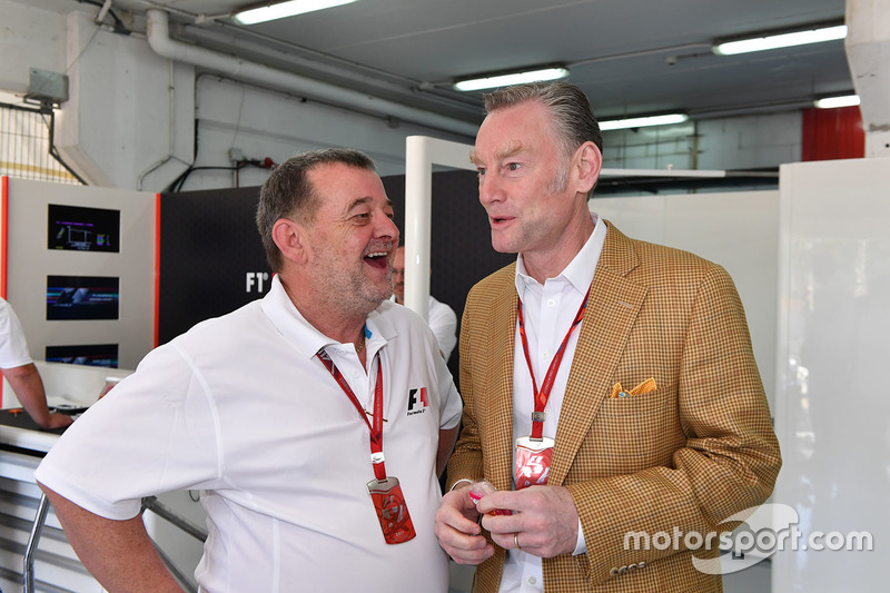 Paul Stoddart, Sean Bratches, Formula One Managing Director, Commercial Operations Paul Stoddart, Sean Bratches, Formula One Managing Director, Commercial Operations