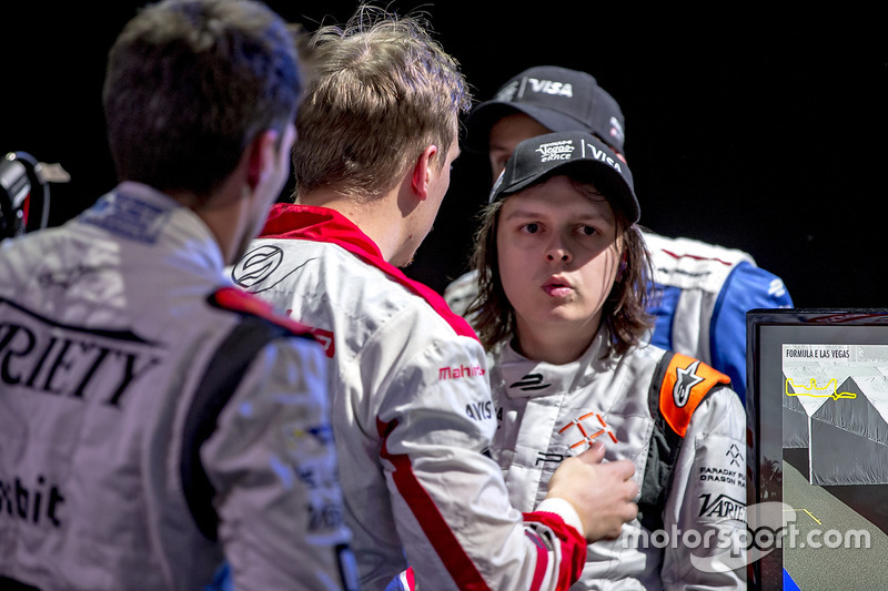 Olli Pahkala, Mahindra Racing con Bono Huis, Faraday Future Dragon Racing