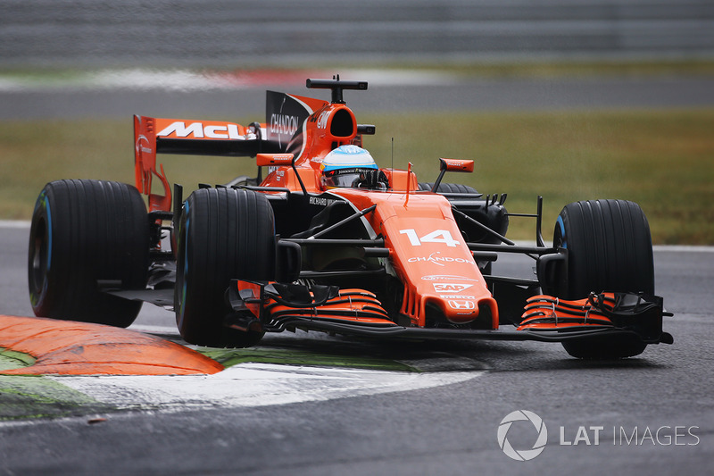 19: Fernando Alonso, McLaren MCL32 (termasuk penalti 35 grid)