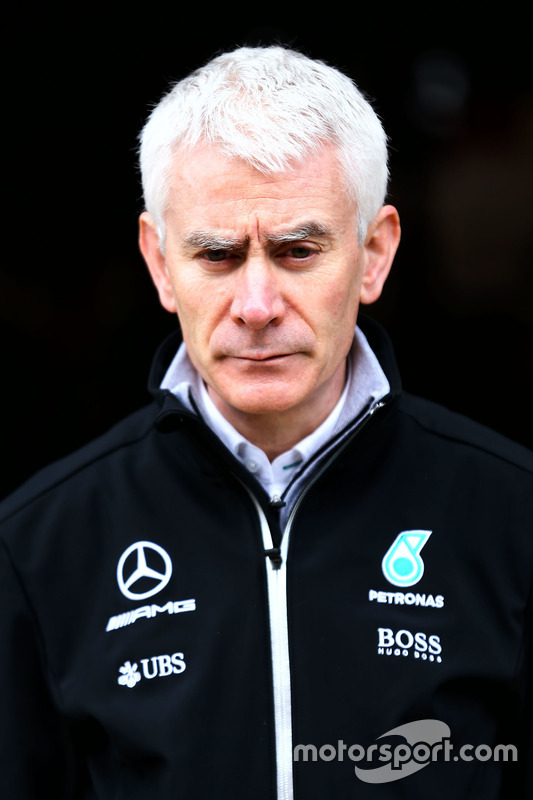 Geoff Willis, Mercedes AMG F1 W08 Technology Director