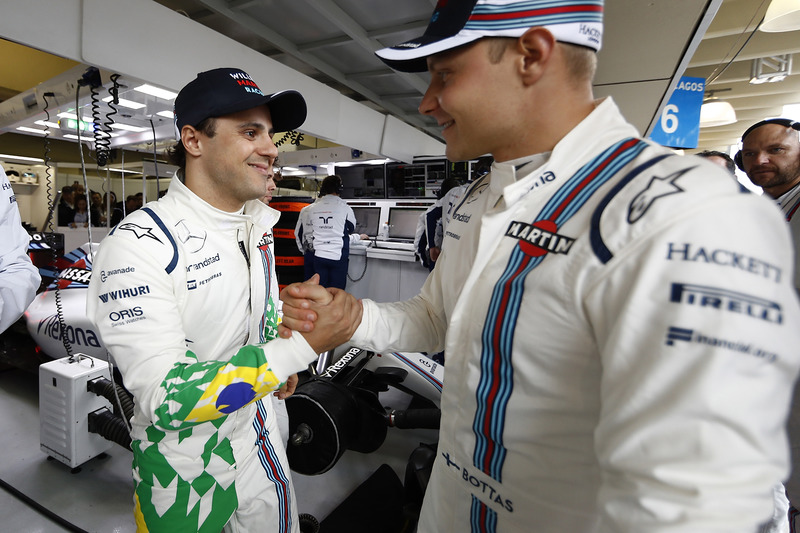 Felipe Massa, Williams, Valtteri Bottas, Williams