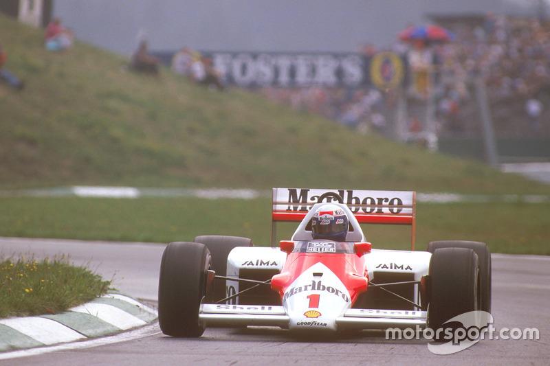 1986 - Alain Prost, McLaren TAG-Porsche