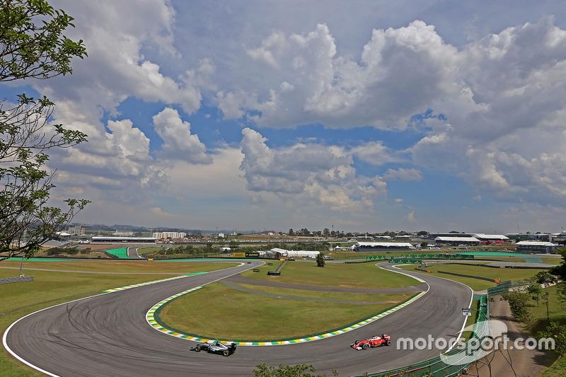 Lewis Hamilton, Mercedes AMG F1 , Sebastian Vettel, Scuderia Ferrari