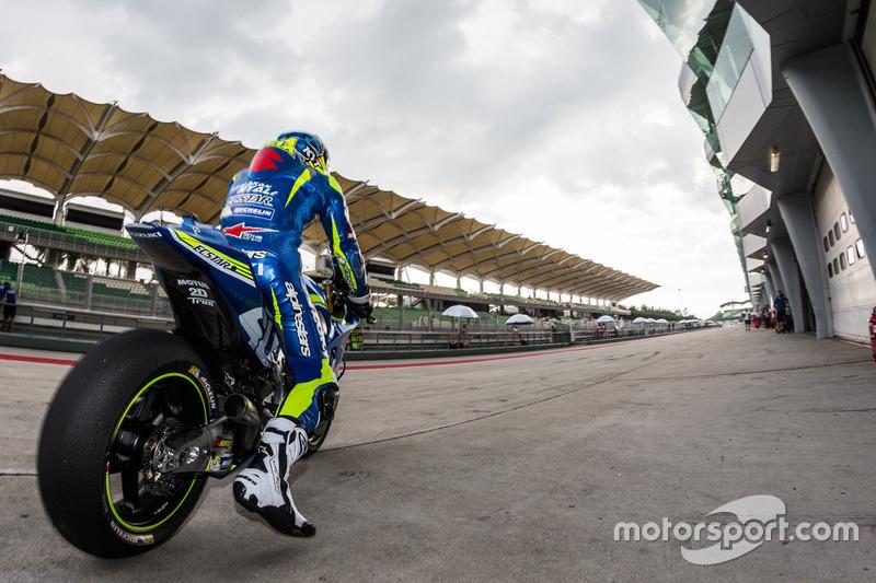 Aleix Espargaro, Team Suzuki MotoGP, MotoGP Sepang Test I. #MotoGP #TeamSuzuki #Espargaro
