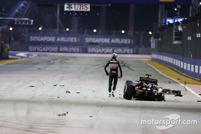 Ausfall: Nico Hülkenberg, Sahara Force India F1 VJM09