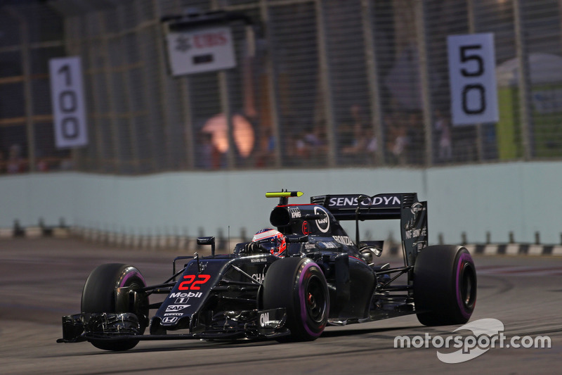 Ausfall: Jenson Button, McLaren Honda MP4-31