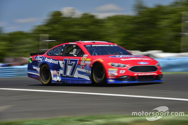 38. Ricky Stenhouse Jr., Roush Fenway Racing, Ford (Crash)