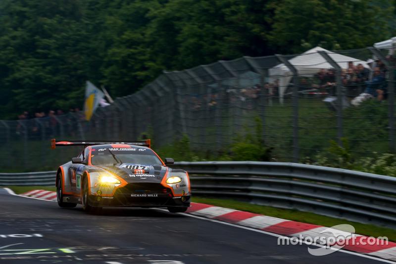 #7 Aston Martin Racing, Aston Martin GT3 Vantage: Nicki Thiim, Darren Turner, Marco Sorensen, Pedro Lamy