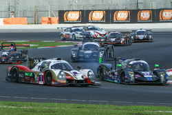 #1 DC Racing Ligier JSP3: James Winslow, Neale Muston, #27 Nexus Infinity ADESS 03: Vignesa Moorthy, Garnet Patterson