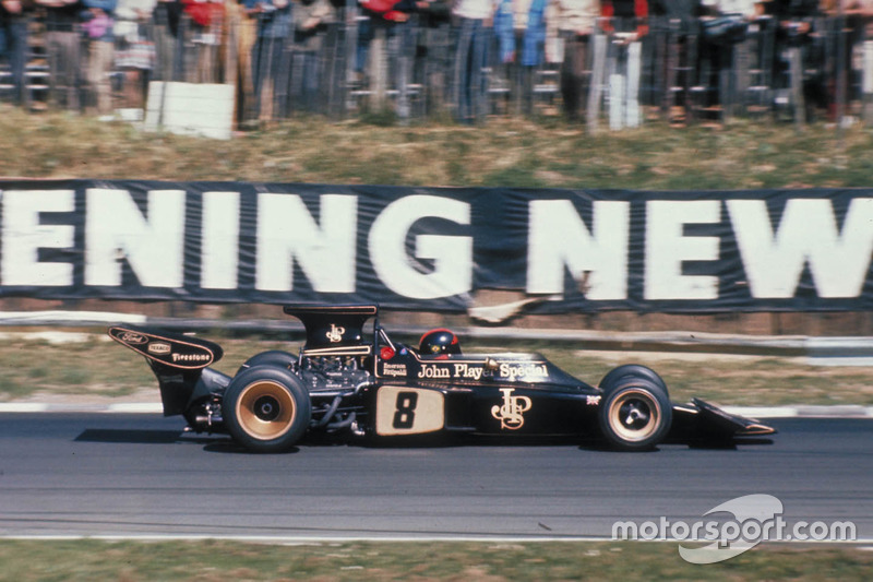 Emerson Fittipaldi, Team Lotus