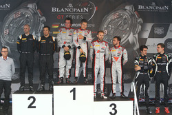 Podium: winner #33 Belgian Audi Club Team WRT Audi R8 LMS GT3: Enzo Ide, Christopher Mies, second place #58 Garage 59 McLaren 650S GT3: Rob Bell, Alvaro Parente, third place #28 Belgian Audi Club Team WRT Audi R8 LMS Ultra: Will Stevens, René Rast