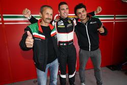 #56 AT Racing Ferrari F458 Italia: Alexander Talkanitsa Sr., Alexander Talkanitsa Jr., Alessandro Pier Guidi; Pole position LM GTE