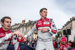#8 Audi Sport Team Joest Audi R18: Oliver Jarvis, Loic Duval