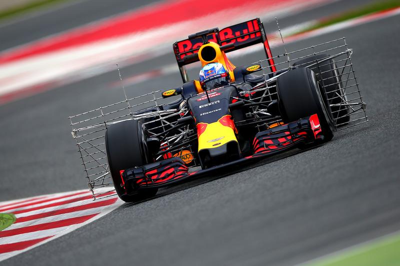 #7: Daniel Ricciardo, Red Bull Racing RB12