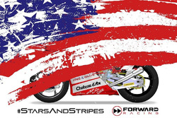 Teaser livrea USA Forward Racing a Misano