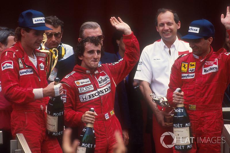 GP de Mónaco 1988