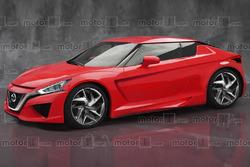 Representación de automóviles Z de nueva generación de Nissan