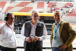 Martin Whitmarsh is reunited with Mansour Ojjeh, co-owner, McLaren