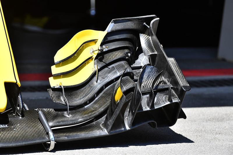 Renault Sport F1 Team R.S. 18 ön kanat detay