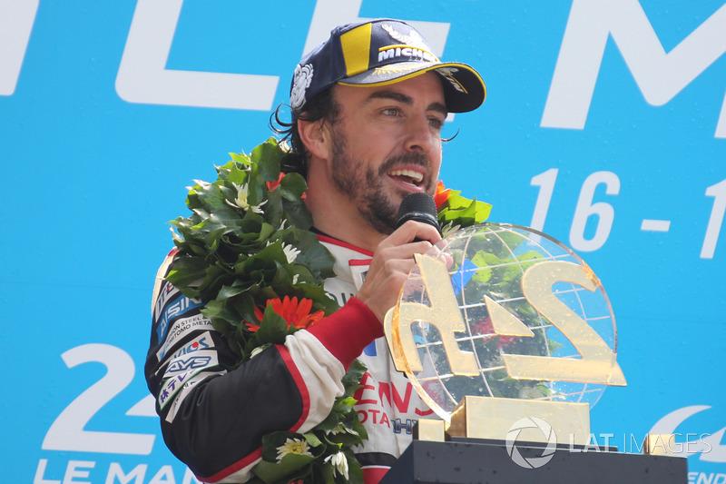 2: Fernando Alonso - Formula 1 11.si, Le Mans 24 Saat galibi, WEC LMP1 şampiyona lideri