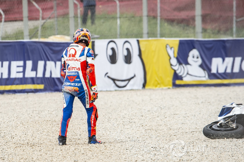 Jack Miller, Pramac Racing after the crash