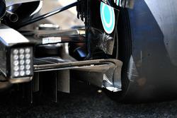 Diffuseur de la Mercedes-AMG F1 W09