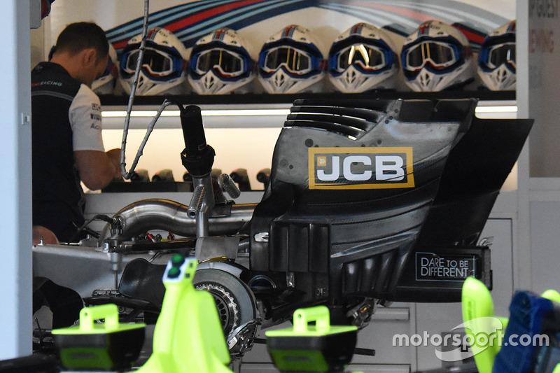 Детали задней части Williams FW41