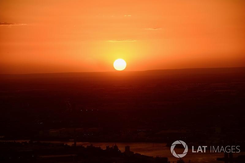 Atmosphere, sunset